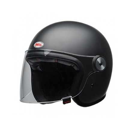 CASQUE BELL - RIOT SOLID MATTE BLACK