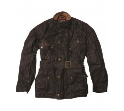 BARBOUR International & Triumph Minerva Dry Wax Jacket