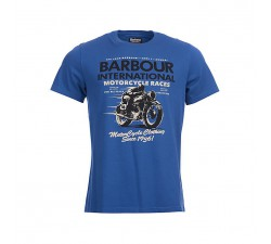 Barbour Mechanical Tee - Navy