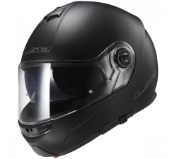 CASQUE MODULABLE LS2 - STROBE MATT BLACK
