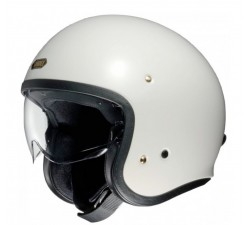 Casque JET SHOEI J.O White