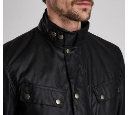 BARBOUR Duke Wax jacket Black