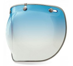 Visière CUSTOM 500 / SNAP BUBBLE DELUXE Shields - Blue Gradient