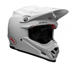 casque moto cross BELL Moto-9 Flex Solid White