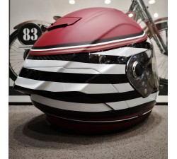 Casque BELL Race Star Flex DLX RSD The Zone Matte/Gloss White/Candy Red