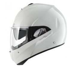 CASQUE MODULABLE SHARK - EVOLINE 3 Fusion - Blanc brillant