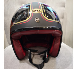 CASQUE JET BELL - CUSTOM 500 / CARBON RSD CHECKMATE