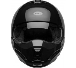 Casque BELL BROOZER Gloss Black / transformable