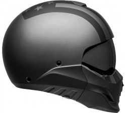 Casque BELL BROOZER Free Ride Matte Gray/Black - transformable