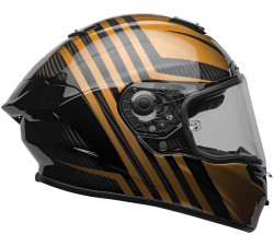 Casque intégral BELL Race Star Flex DLX Matte/Gloss Black/Gold