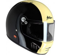 CASQUE INTEGRAL AIRBORN - Noir brillant - ABFR01