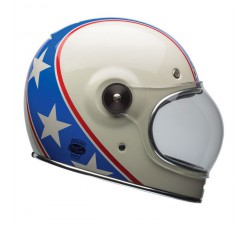 CASQUE Intégral BELL - Bullitt chemical candy blue/white
